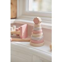 Jollein Houten stapeltoren shell pink