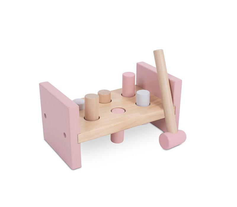 Jollein Houten hamerbank pink
