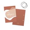 SUS design Bewaarbundel geboortekaartjes roze abstract