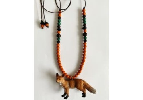 ByMelo ByMelo Dierenketting stoer Vic vos