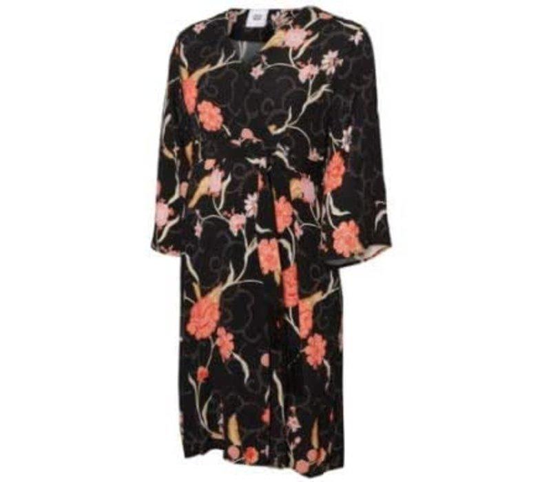 Mamalicious MLORIENTAL 3/4 WOVEN ABK DRESS