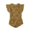 Sproet & Sprout Sproet & Sprout Jumpsuit Print Camel