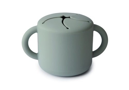 Mushie Mushie Snack Cup Cambridge Blue