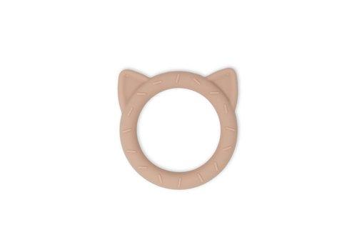 Mushie Mushie Siliconen Bijtring Cat blush