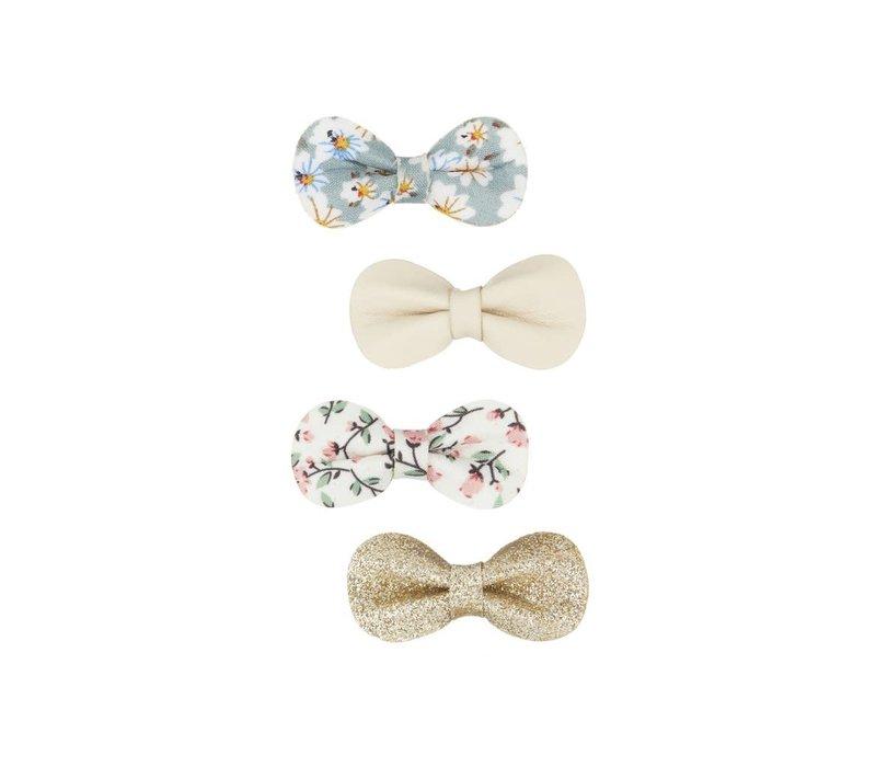 Mimi & Lula Floral gracie bow clips