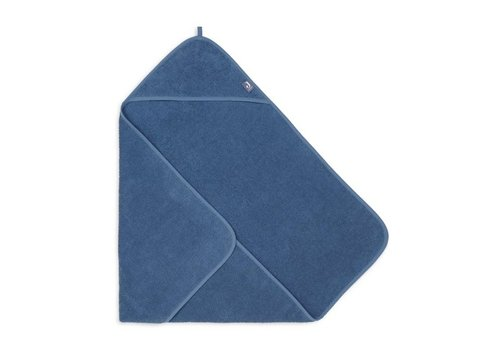 Jollein Jollein Badcape badstof 75x75cm jeans blue