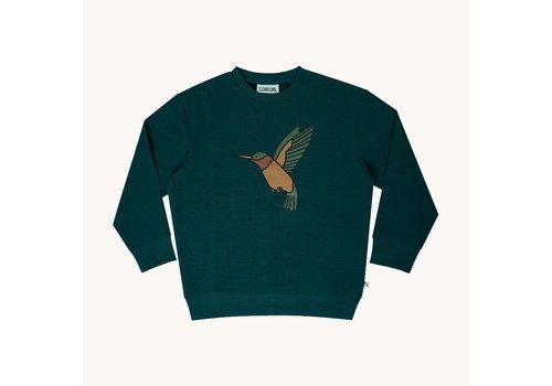 CarlijnQ CarlijnQ Hummingbird – sweater wt print