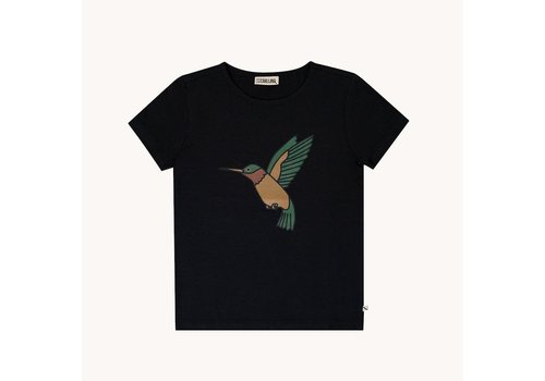 CarlijnQ CarlijnQ Hummingbird – t-shirt wt print