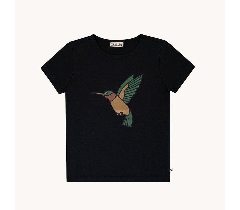 CarlijnQ Hummingbird – t-shirt wt print