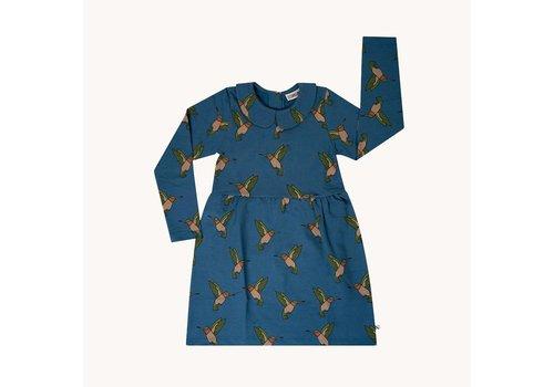 CarlijnQ CarlijnQ Hummingbird – collar dress