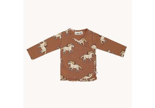 CarlijnQ CarlijnQ Wild Horse - kimono cardigan baby