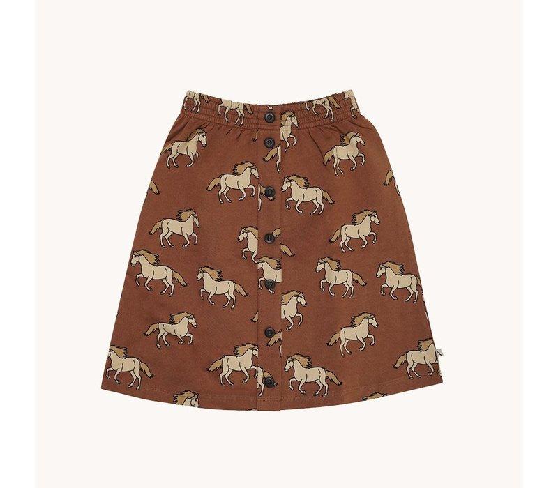 CarlijnQ Wild Horse - skirt wt buttons