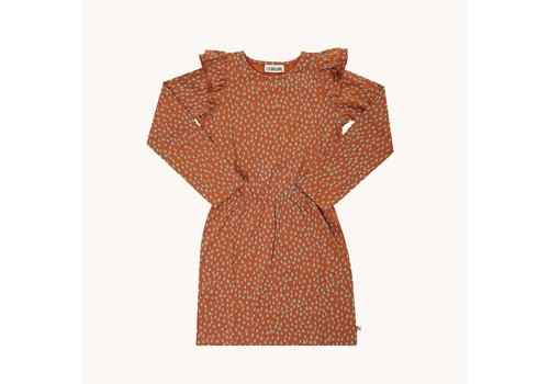 CarlijnQ CarlijnQ Mountain Air Sparkles - ruffled dress