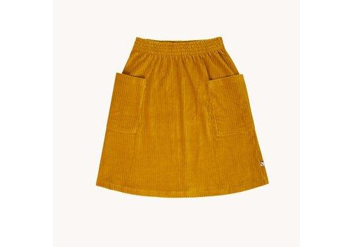 CarlijnQ CarlijnQ Corduroy yellow - skirt wt pockets