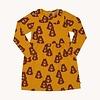 CarlijnQ CarlijnQ Alpine Marmot - collar dress