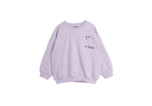 Mini Rodini Mini Rodini Polar bear sp sweatshirt Purple