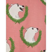 Mini Rodini Polar bear aop leggings Pink