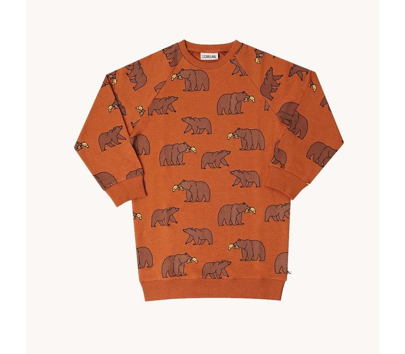 CarlijnQ Grizzly - sweater dress