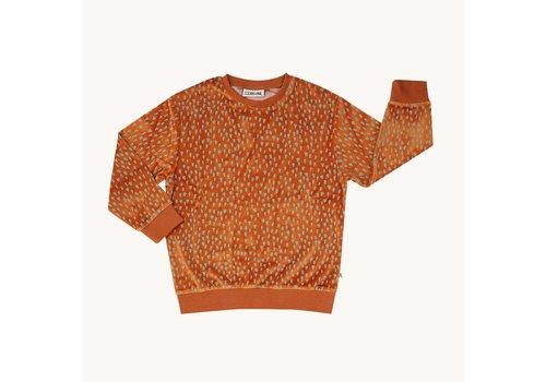 CarlijnQ CarlijnQ Mountain Air Sparkles - velours sweater
