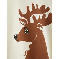 Mini Rodini Deer sp sweatshirt Offwhite