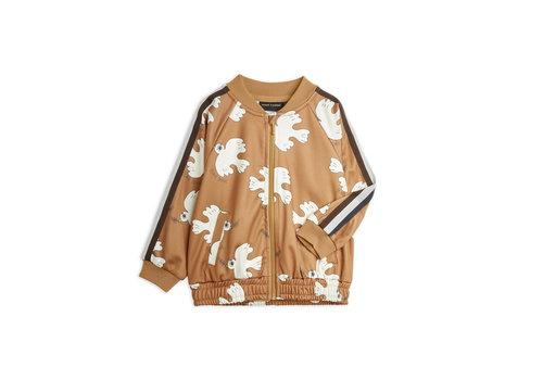 Mini Rodini Mini Rodini Dove aop wct jacket Brown