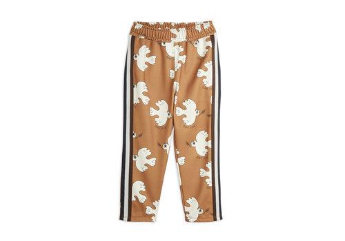 Mini Rodini Mini Rodini Dove aop wct trousers Brown