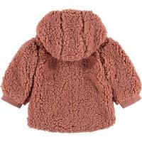 Babyface baby girls jacket rose bud