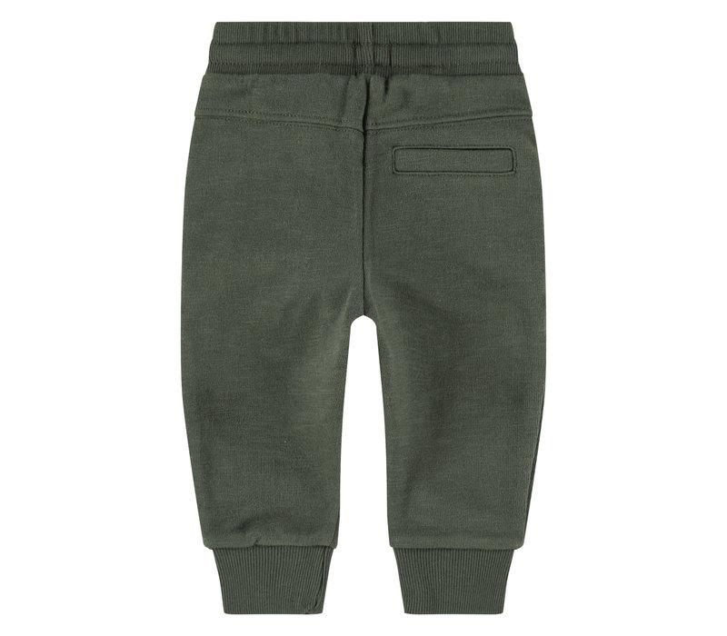 Babyface boys sweatpants dark green