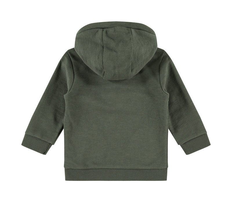 Babyface boys sweatshirt dark green