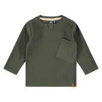 Babyface boys t-shirt long sleeve dark green 3