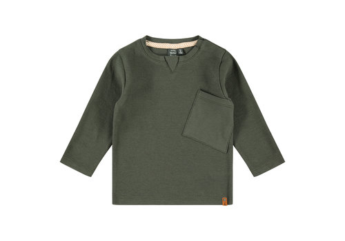 Babyface Babyface boys t-shirt long sleeve dark green 3