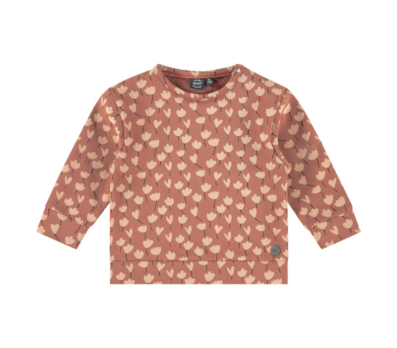 Babyface girls sweatshirt terra pink