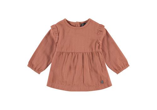 Babyface Babyface girls blouse terra pink