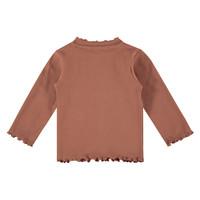 Babyface girls t-shirt long sleeve terra pink 5