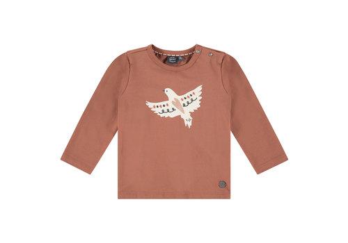 Babyface Babyface girls t-shirt long sleeve terra pink
