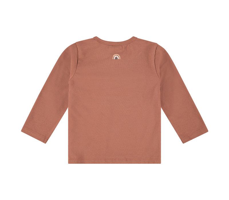 Babyface girls t-shirt long sleeve terra pink
