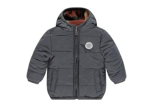 Babyface Babyface boys reversible jacket dark grey