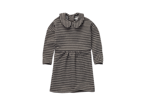 Sproet & Sprout Sproet & Sprout Dress Collar Block Check Black
