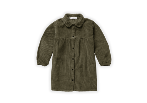 Sproet & Sprout Sproet & Sprout Dress Corduroy Moss Moss