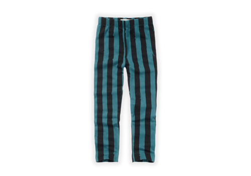 Sproet & Sprout Sproet & Sprout Legging Painted Stripe Pine Green Pine Green