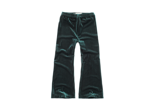 Sproet & Sprout Sproet & Sprout Pants Velvet Pleats Pine Green