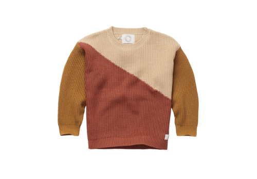 Sproet & Sprout Sproet & Sprout Sweater Colorblock Nougat