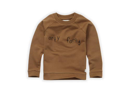 Sproet & Sprout Sproet & Sprout Sweatshirt Arty Farty Mustard