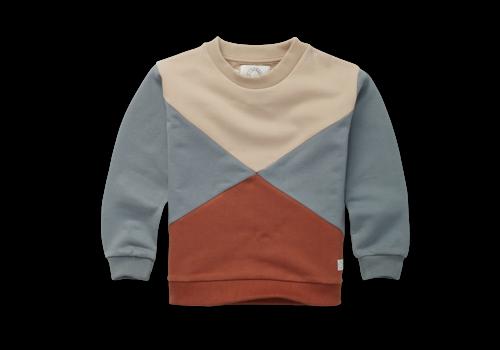 Sproet & Sprout Sproet & Sprout Sweatshirt Colorblock  Auburn