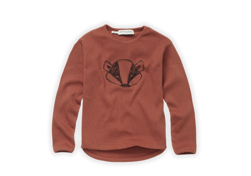 Sproet & Sprout Sproet & Sprout T-shirt Rib Badger Auburn