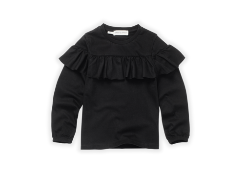 Sproet & Sprout Sproet & Sprout T-Shirt Ruffle Black Black
