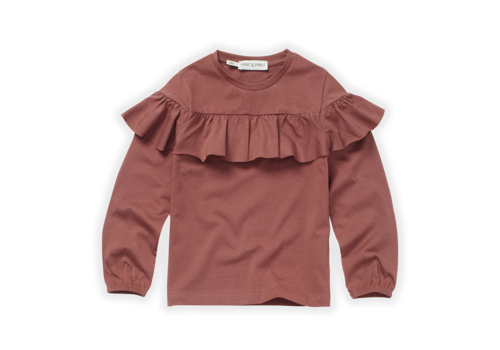 Sproet & Sprout Sproet & Sprout T-Shirt Ruffle Fig Fig