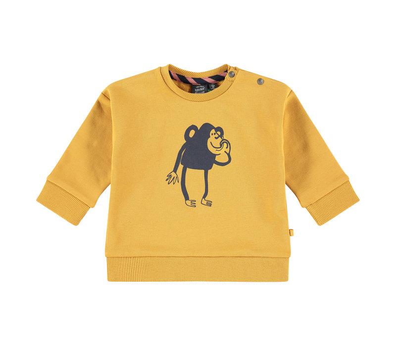 Babyface baby boys sweatshirt MUSTARD