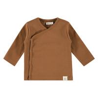 Babyface baby t-shirt long sleeve chocolate 19