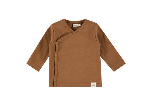 Babyface Babyface baby t-shirt long sleeve chocolate 19